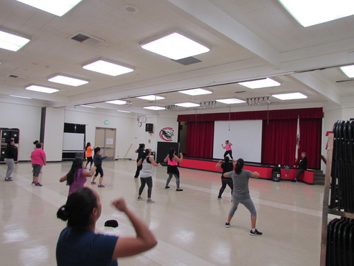 Zumba at Currie
