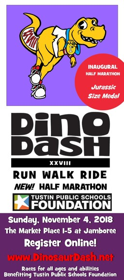 Sign up for the TUSD Dino Dash 2018