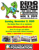 Get Ready to Run, Walk or Bike at the 29th Annual Dinosaur Dash on Sunday, November 3