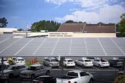 Foothill's Solar Carport Project