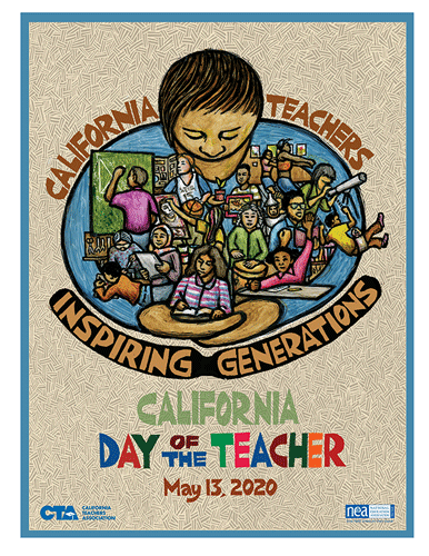 California Day of the Teacher May 13,2020 Inspiring Generations