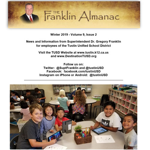 The Franklin Alamanac Winter 2019 Volume 9, Issue 2