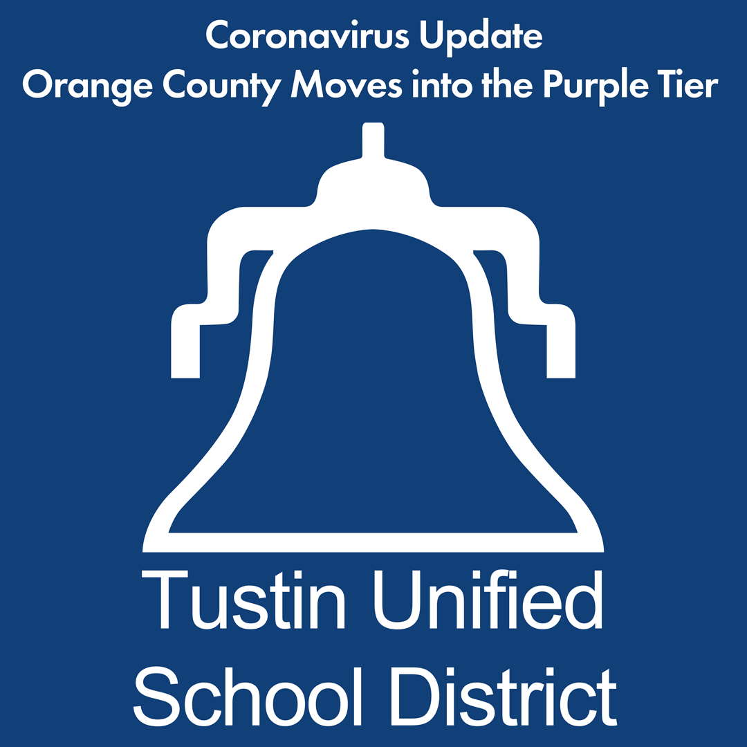 Coronavirus Update: Orange County Moves into the Purple Tier
