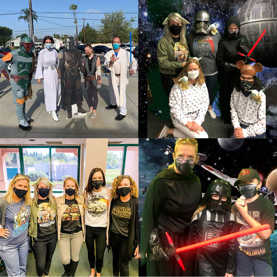 TUSD Staff and Students dress in Star Wars costumes