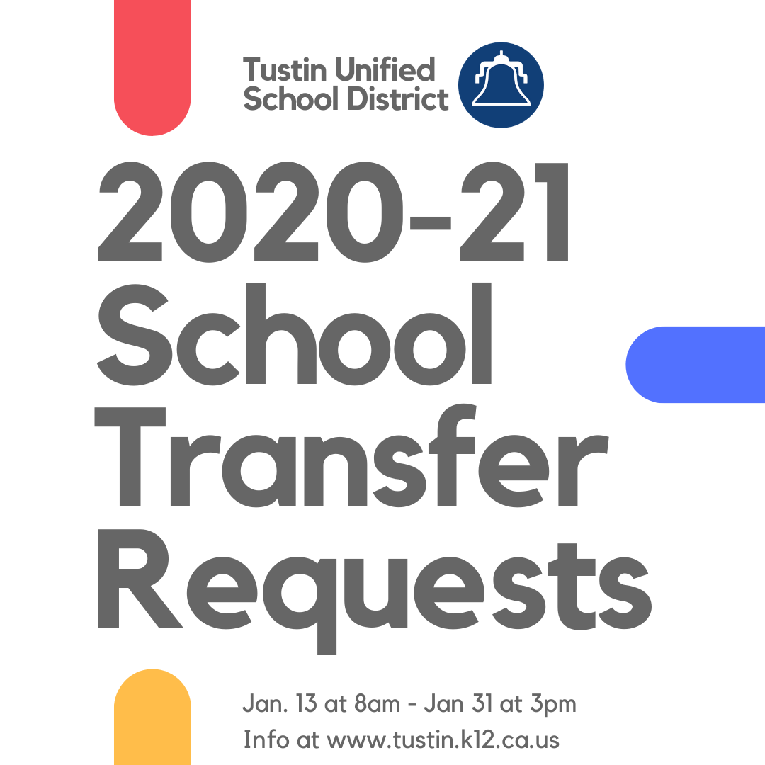 2020-21 School Transfer Requests