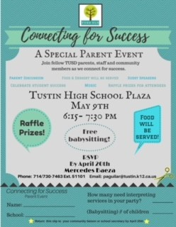 Photo of Connecting for Success Flyer
