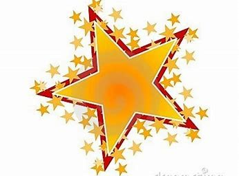 Photo of a bright star with many mini stars all around it