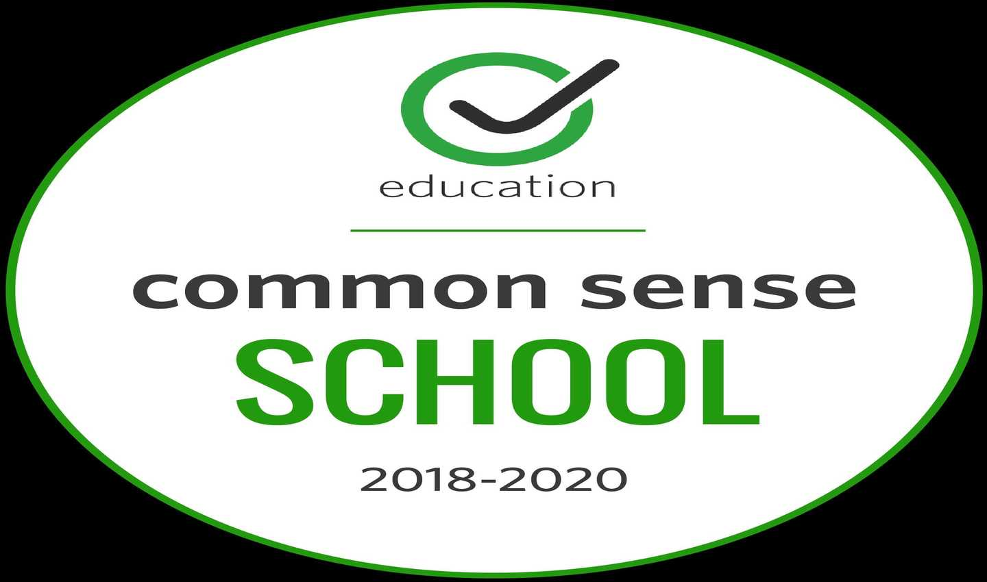 Common Sense School 2018-2020 Logo
