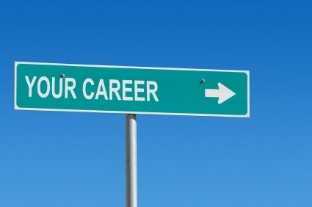 Career direction sign