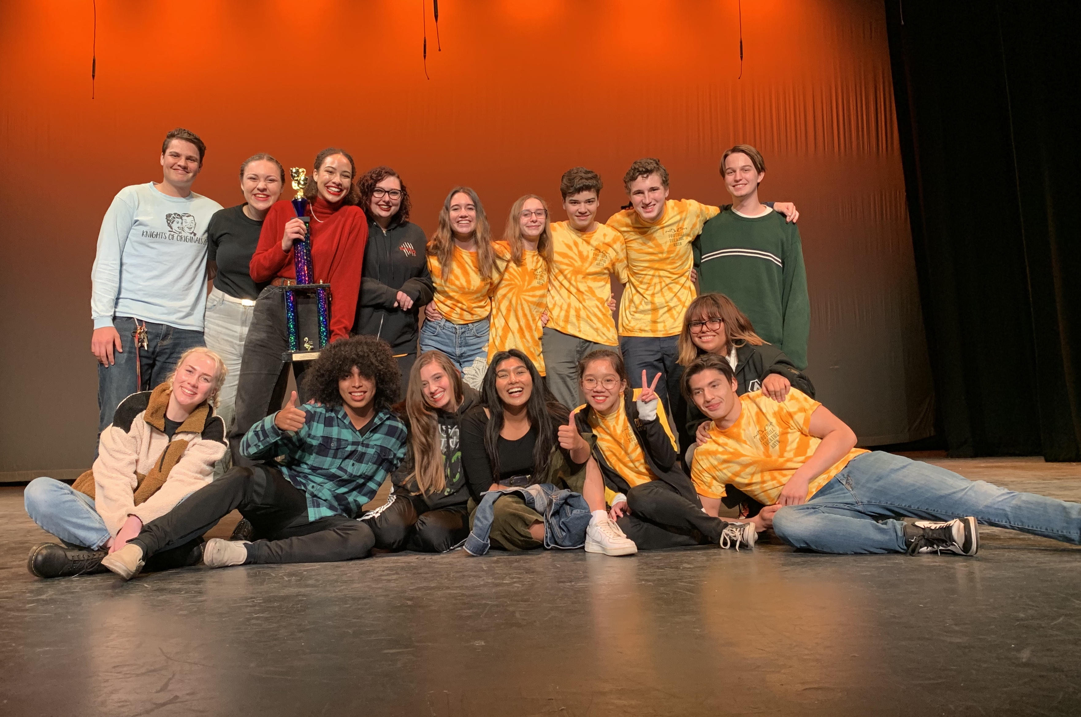 Advanced Theatre Arts students win award image