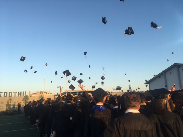 Foothill HS Graduation Ceremony Image