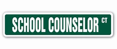 "Image of street sign saying ""School Counselor Court"""