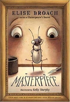 "Cover of book  called ""Masterpiece"""