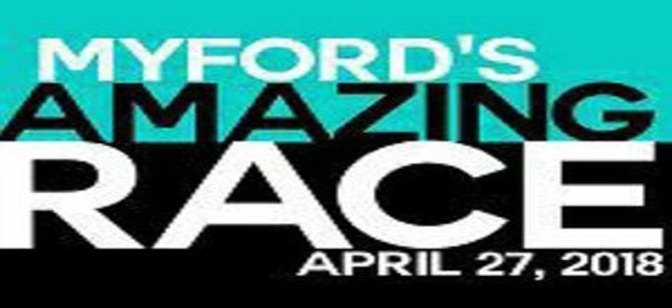 Myford's Amazing Race Spring Fundraiser