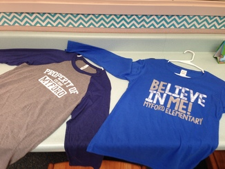 Long-Sleeves Spirit Wear Sample