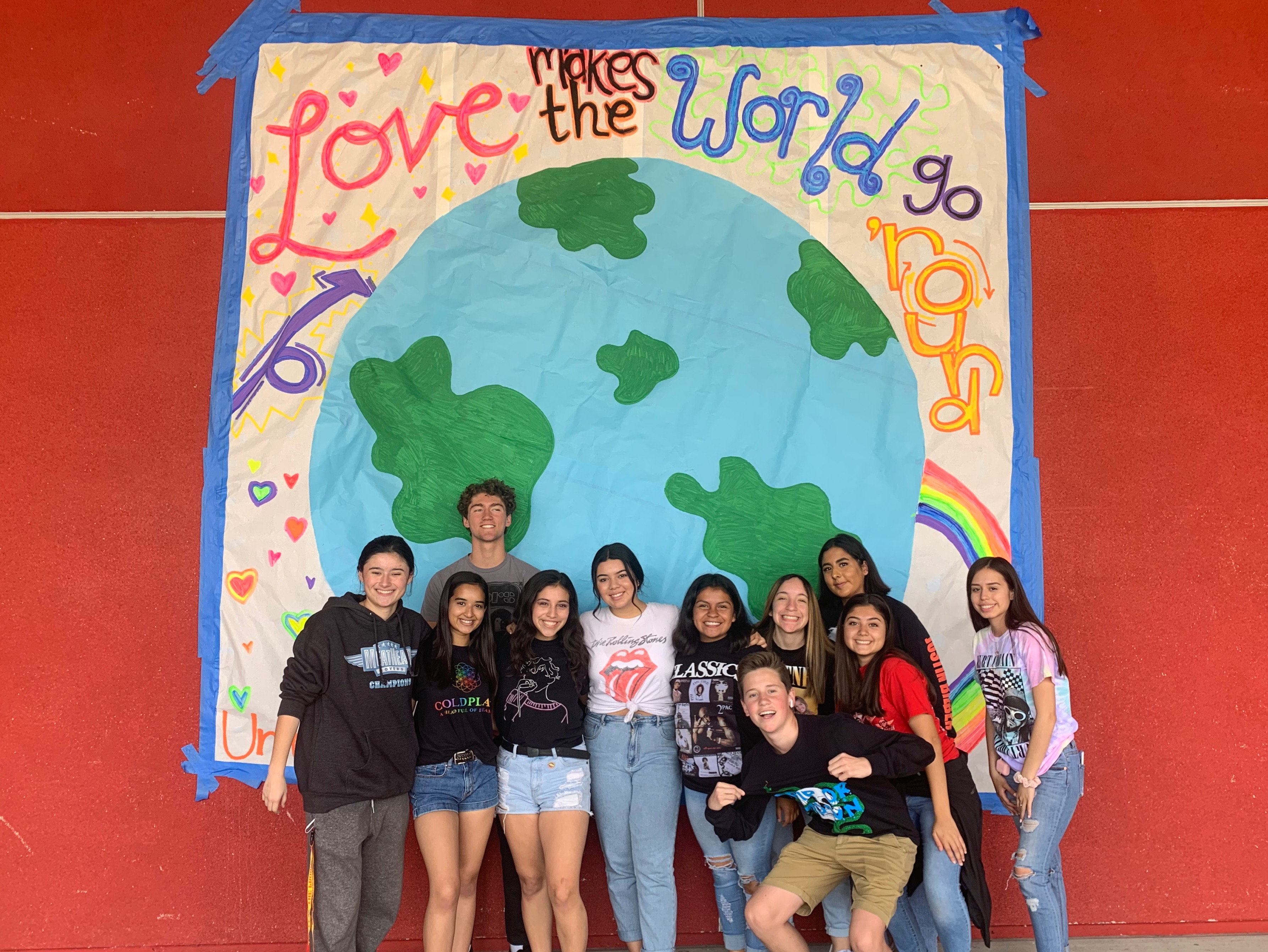 ASB students ready for Unity Week