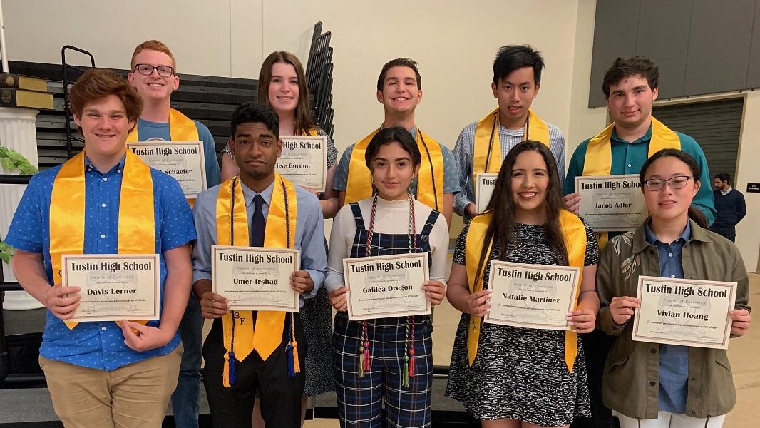 Student Award Presentations - Tustin High School, Tustin