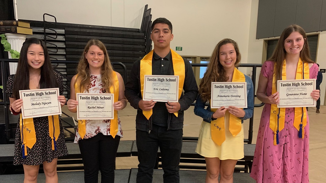Class of 2019 AP Scholars with Honors