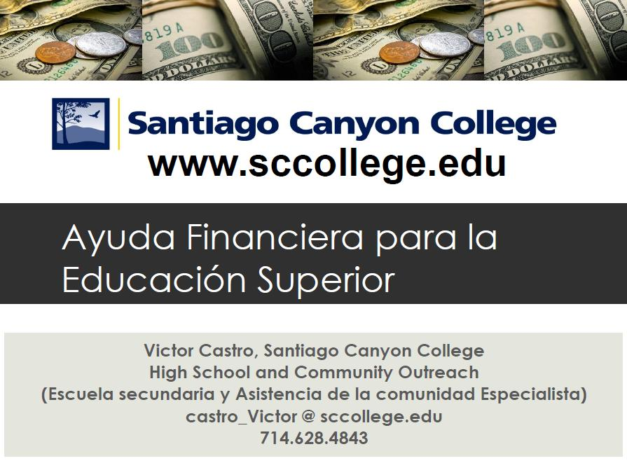 SCC Financial Aid Presentation Preview