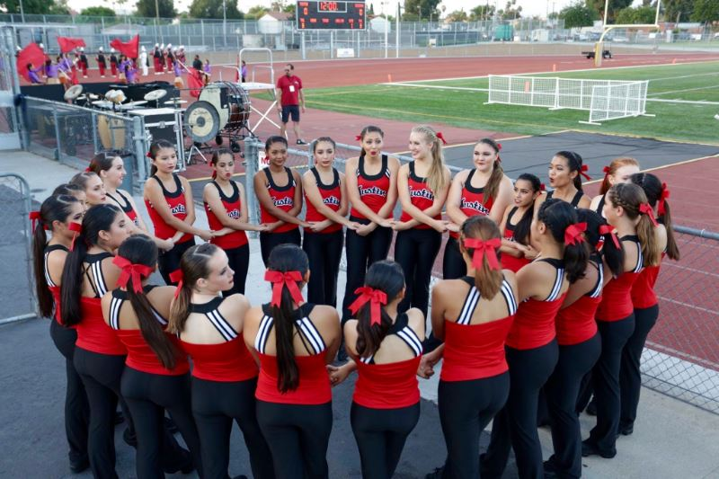 THS Dance Team at Football vs Beckman