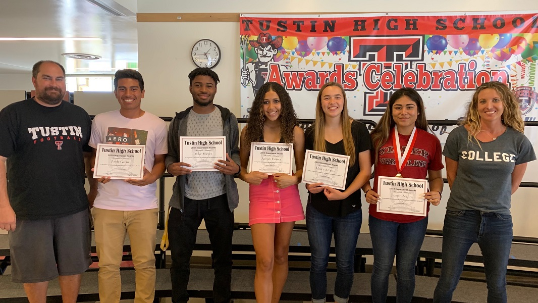 Athletics award recipients and their directors
