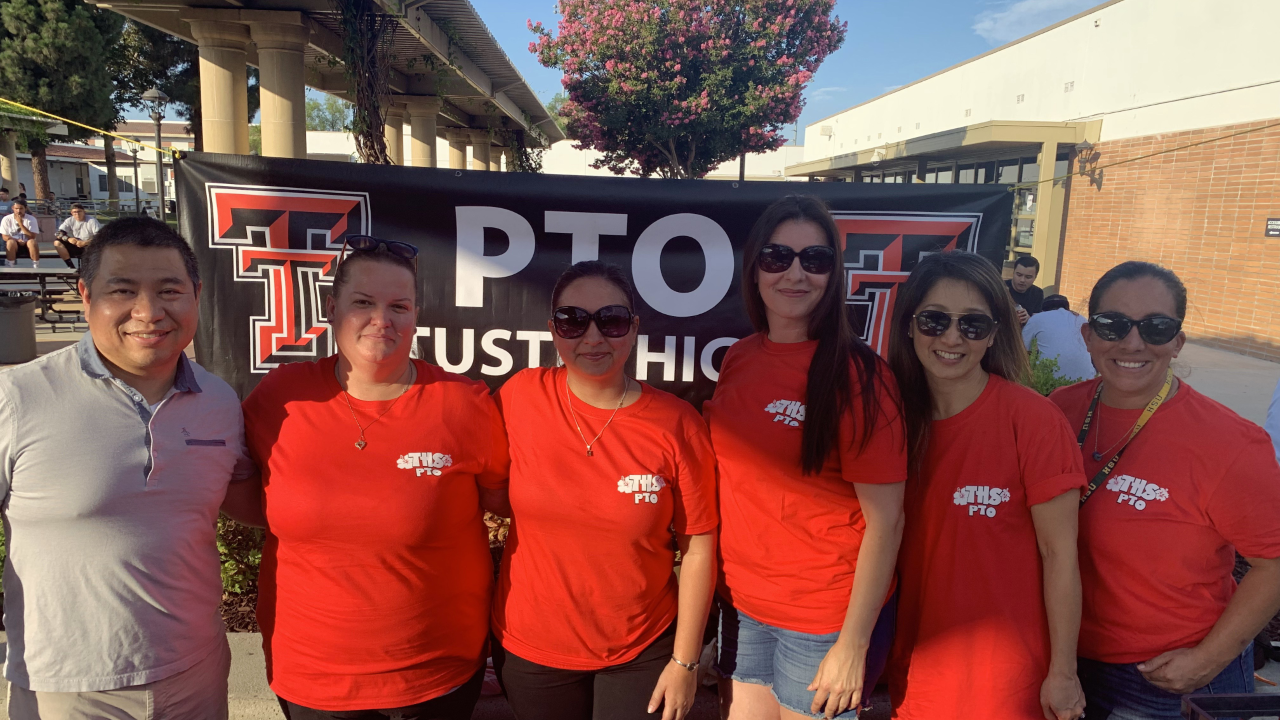 Tustin High PTO executive board 2019-2020
