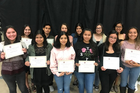 2018 HEEF Scholarship recipients