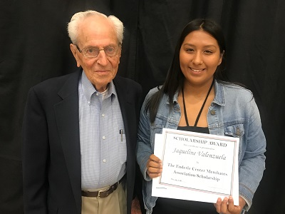 2018 Enderle Center Merchants Association Scholarship recipient