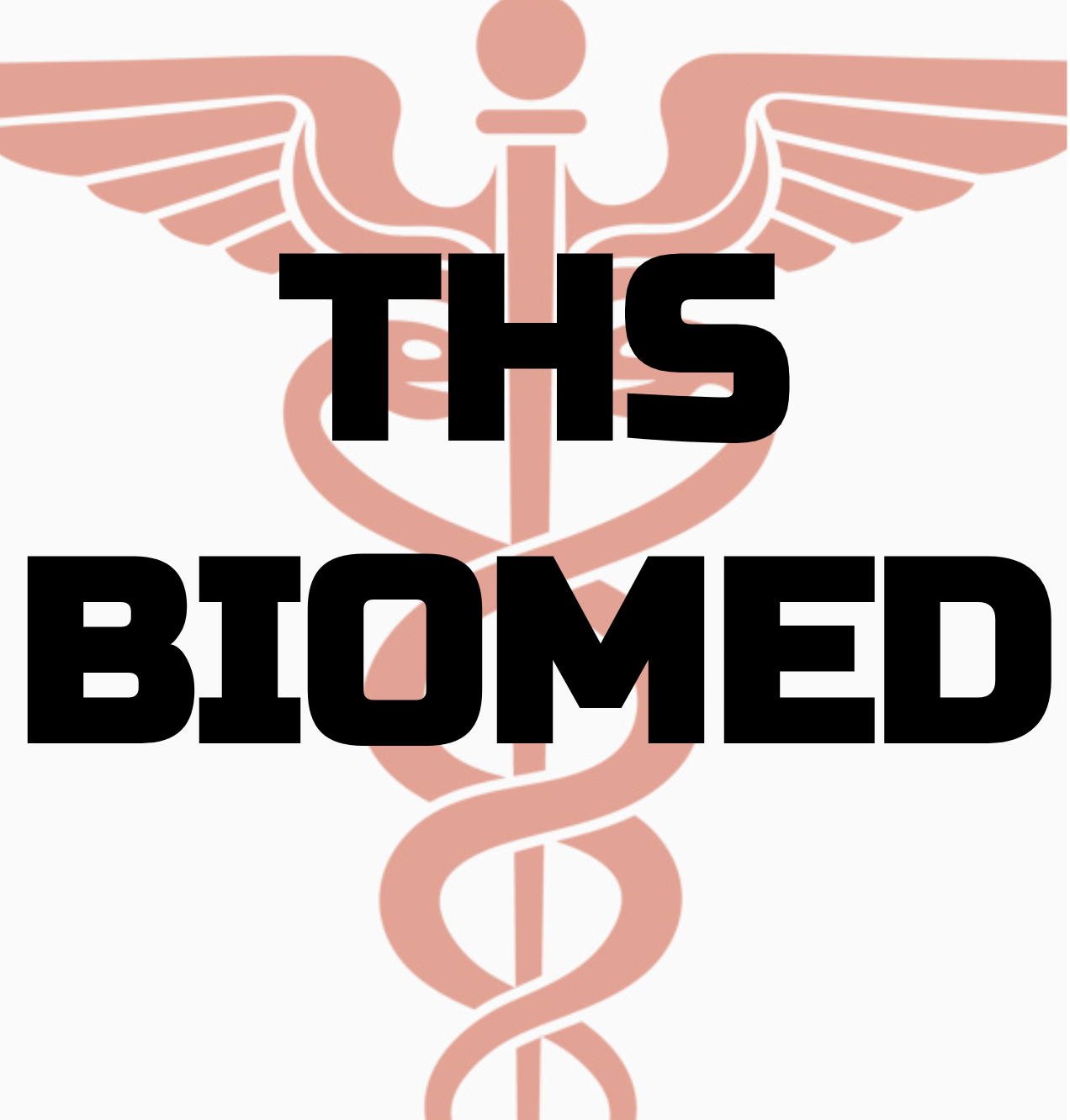 THS BioMed written in black over a health services watermark