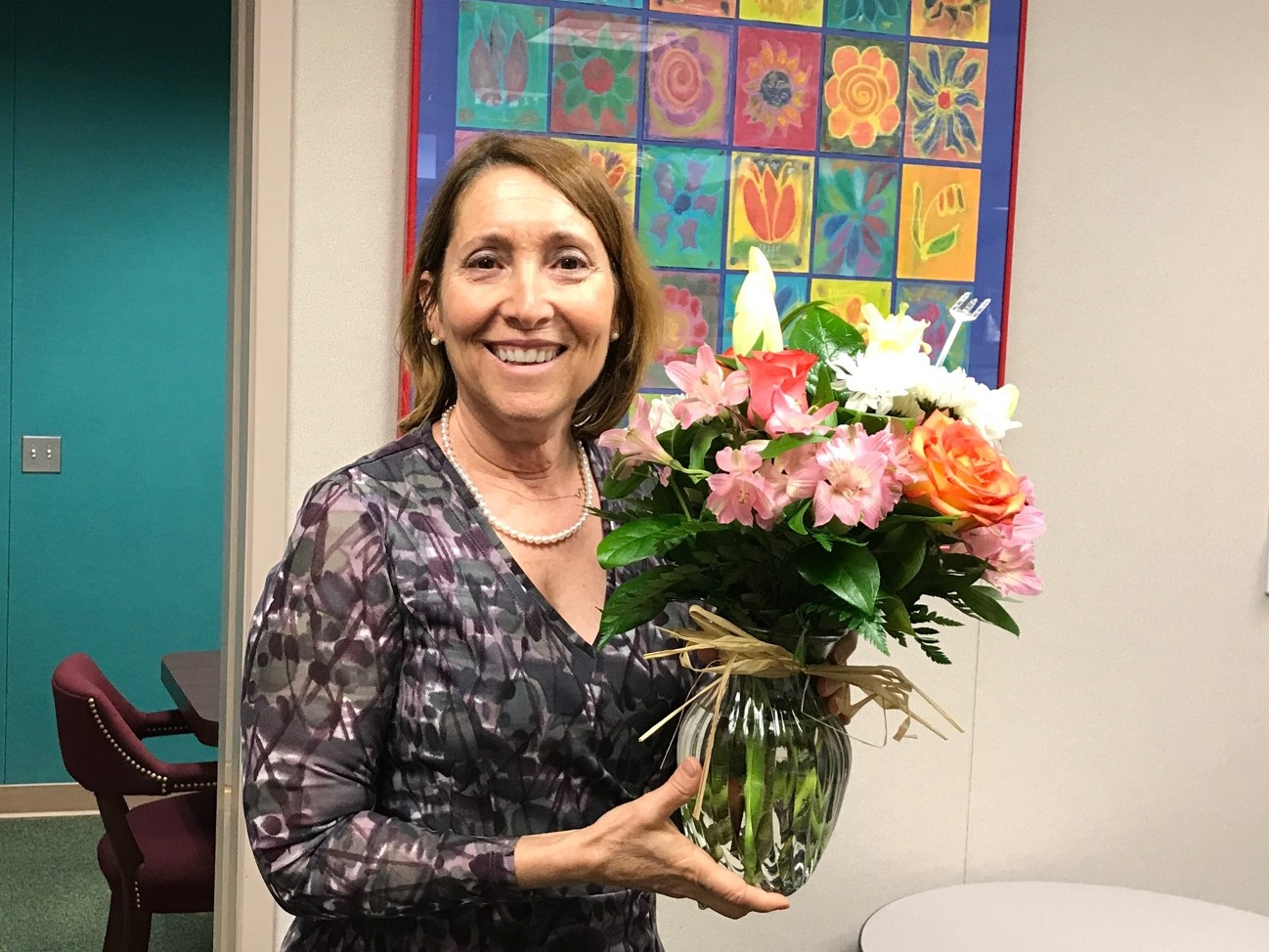 Tracy Barquer, Principal of the Year for Orange County