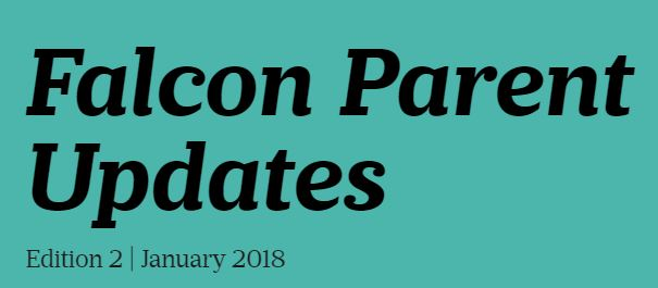 Falcon Parent Updates Edition 2